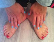 Angela - Shellac Hollywood en Azure Wish